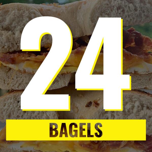 24 bagels