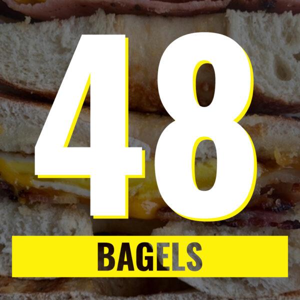 48 bagels