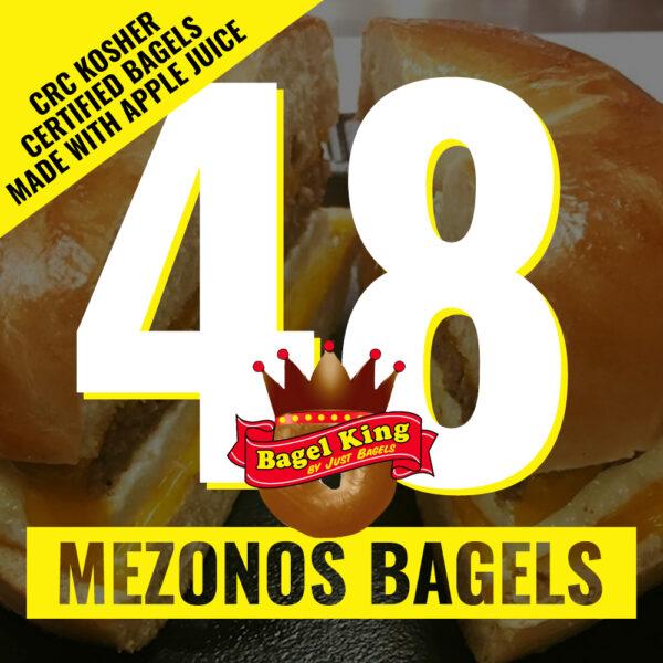 48 bagel king bagels