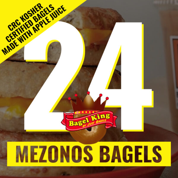 24 bagel king bagels