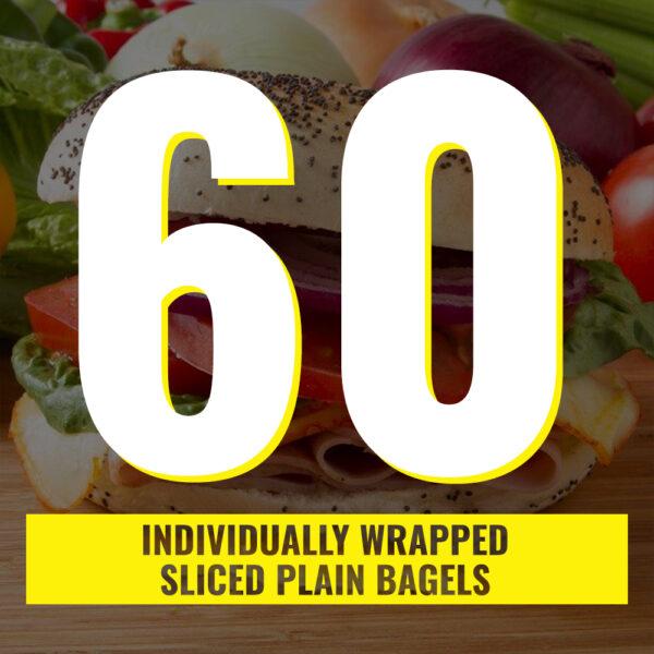 60 individual bagels